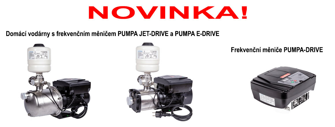 Novinka - Pumpa Drive