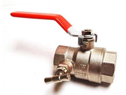 kulovy ventil odvodneni