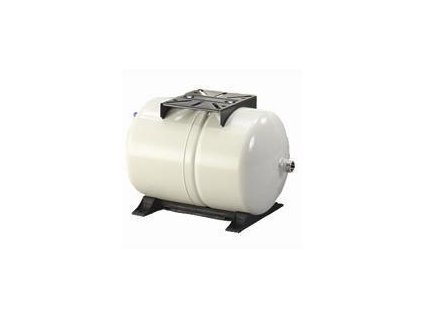 "Global Water PWB-80LH ležatá tlaková nádoba 80l 10bar 1"" 90°C"