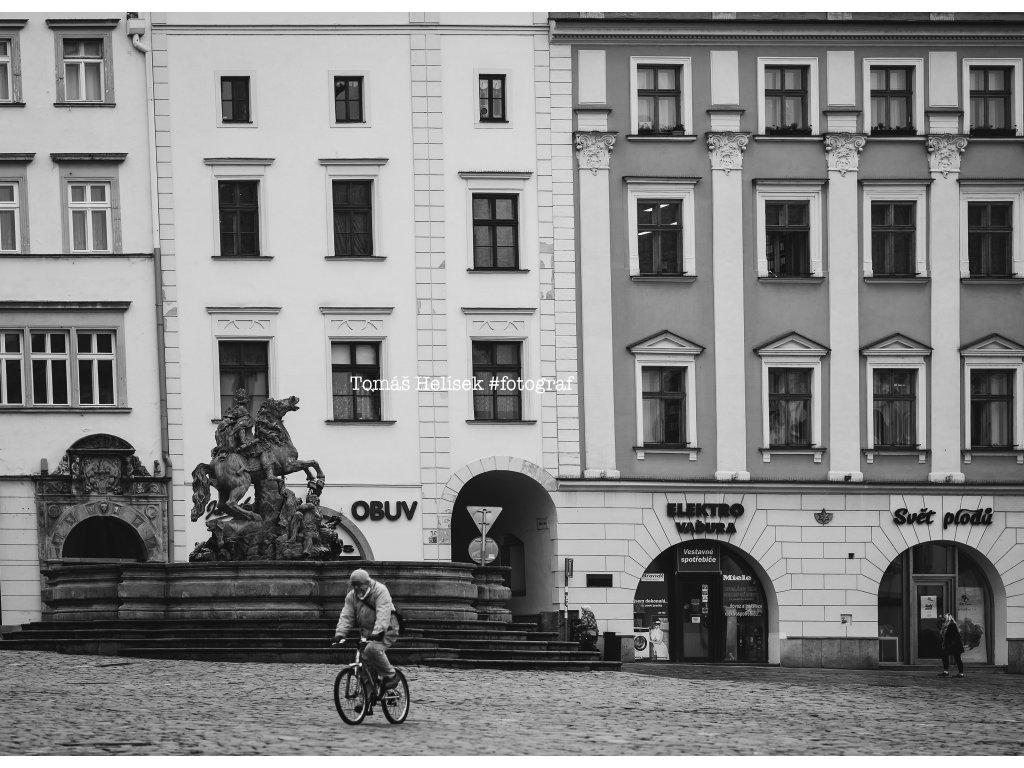 Fotografie - print č.14 Olomouc ČB