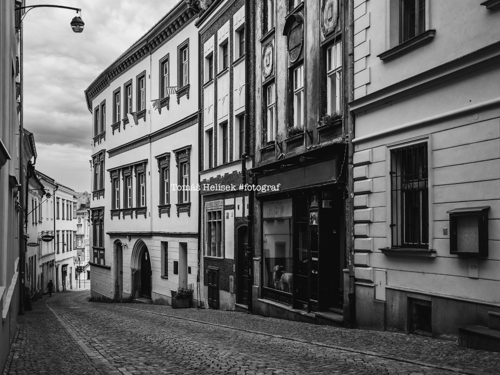 Fotografie - print č.28 Olomouc ČB