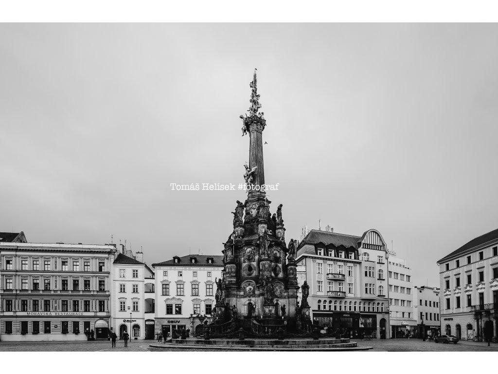 Fotografie - print č.34 Olomouc ČB