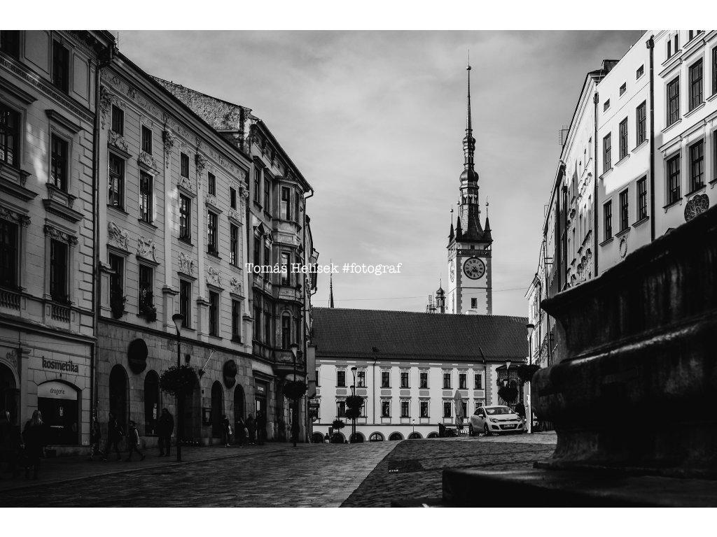 Fotografie - print č.6 Olomouc ČB