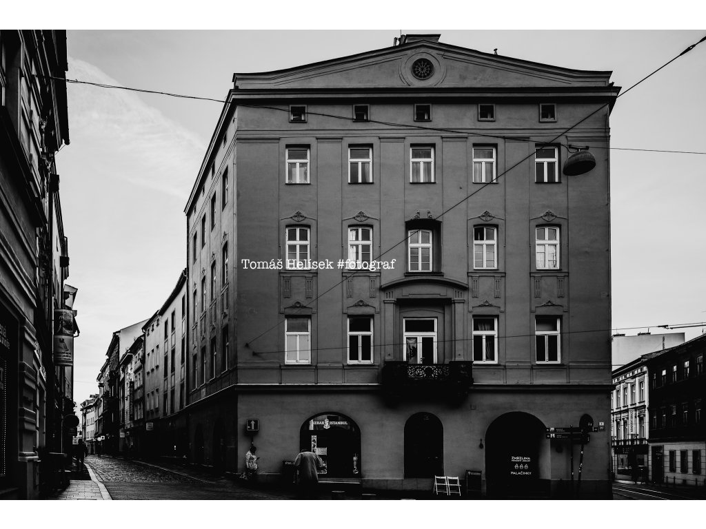 Fotografie - print č.8 Olomouc ČB