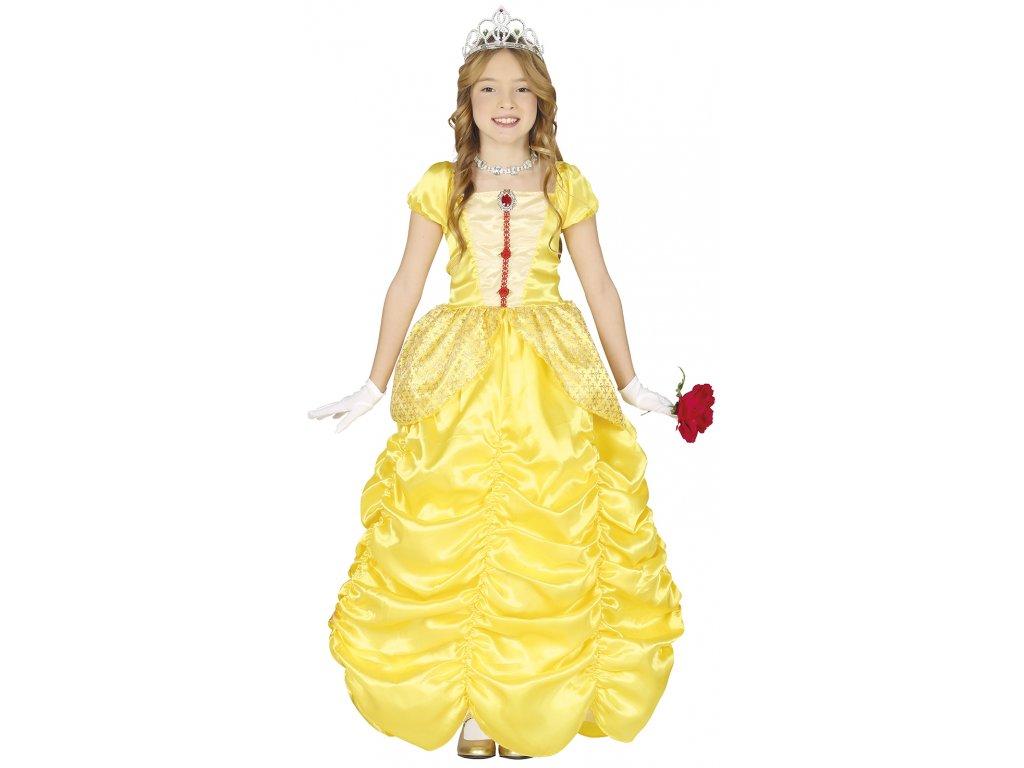 Detský kostým - Princezná Bella (Размер - деца S)