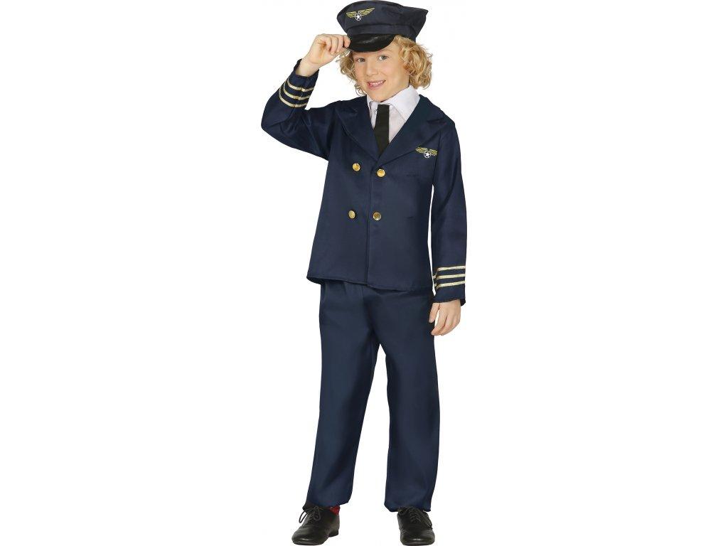 Kostým pilot detský