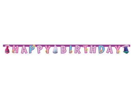 Banner Happy Birthday Trollovia