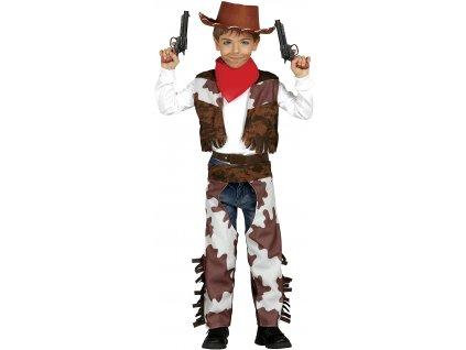 Kostým kovboja - detský (Veľkosti 10-12 rokov (výška 142-148cm))