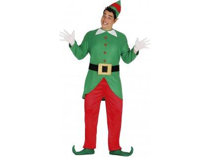 Pánsky kostým - Vianočný elf (Размер - Възрастни L)