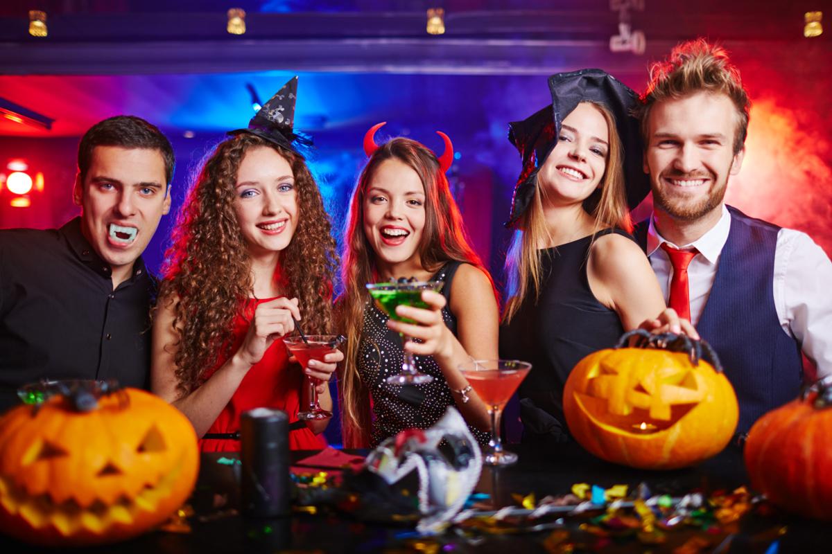 Halloweenska párty