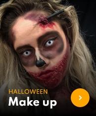 Malování na obličej halloween