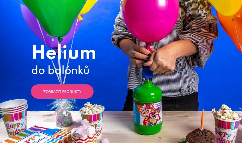Hélium a balónky