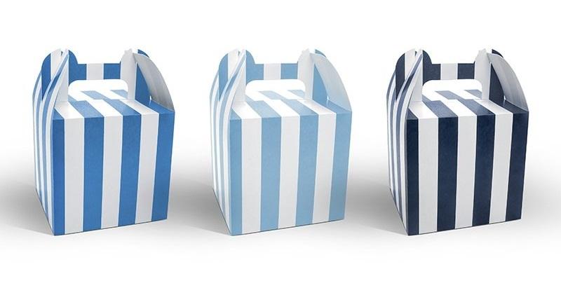 Dekorativní boxy na sladkosti
