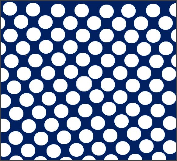 Modrá tečkovaná