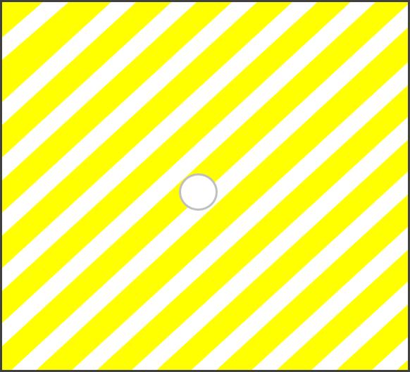 Žlutá pruhovaná