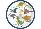 Oslava ve stylu pohádky Šťastný Dinosaurus - Párty výzdoba