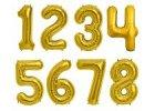 Balónky ve tvaru čísla