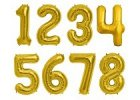 Balóny ve tvaru čísla