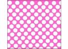 Růžová tečkovaná
