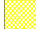 Žlutá tečkovaná