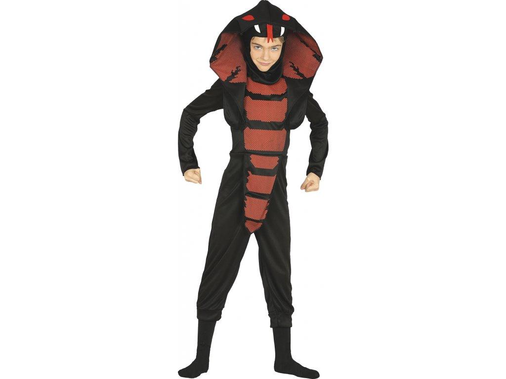 Dětský kostým Kobra