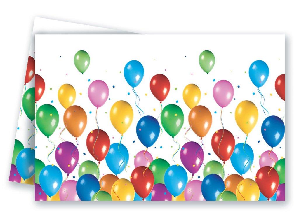 Ubrus Balonová oslava 120 x 180 cm