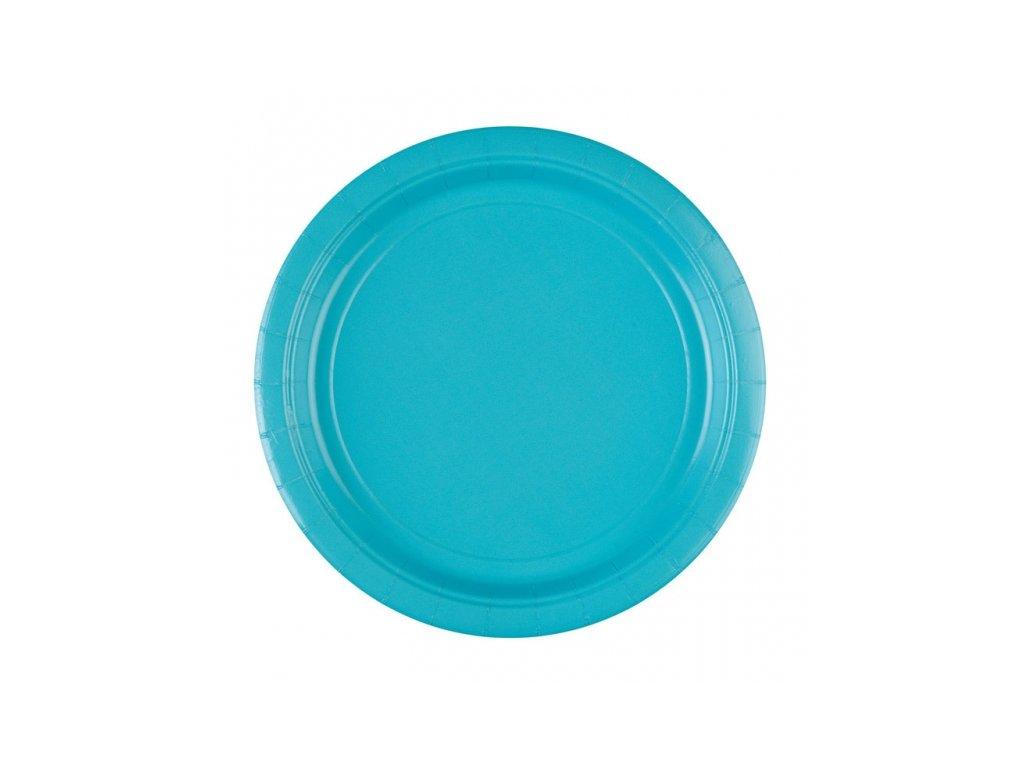 Talíře modré 8 ks