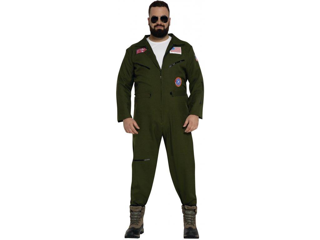 Kostým vojenského pilota (Velikost - dospělý L)