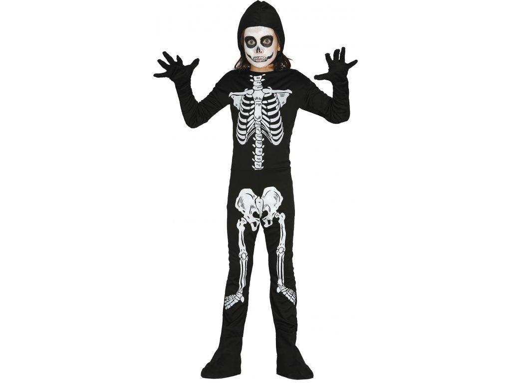 Kostým kostry dětský
