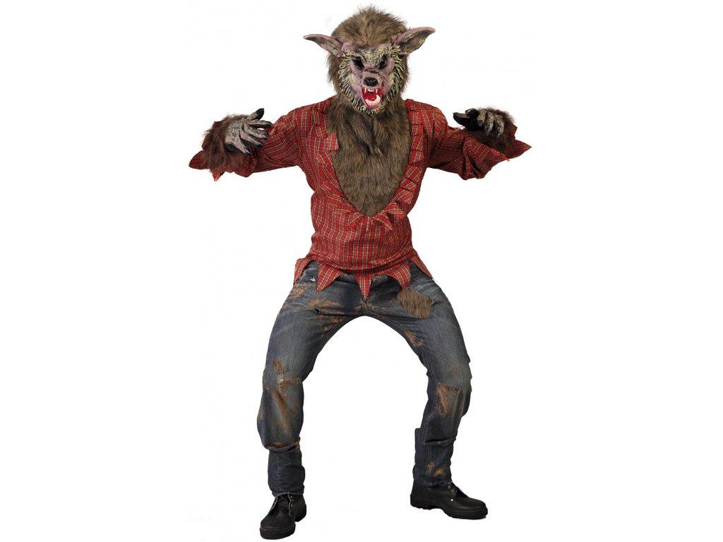 Kostým vlkodlaka (Velikost - dospělý L)