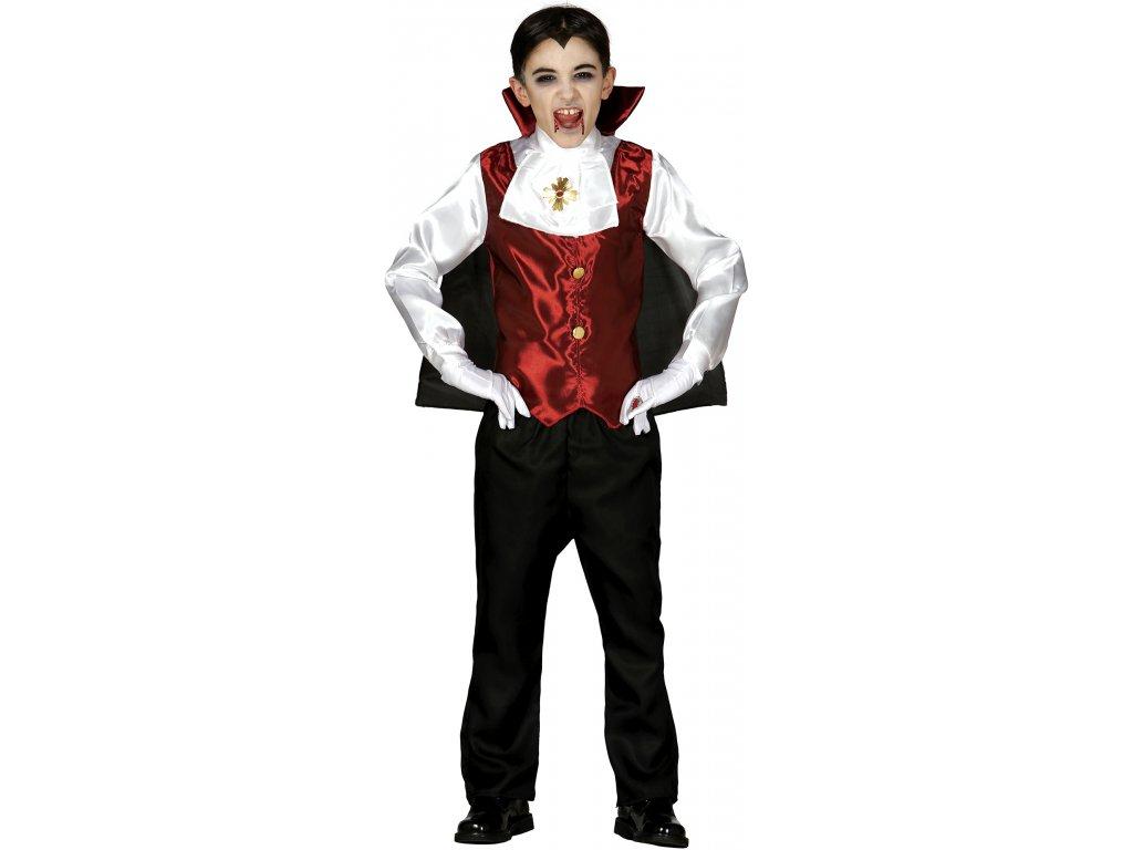 Kostým Drakula  dětský