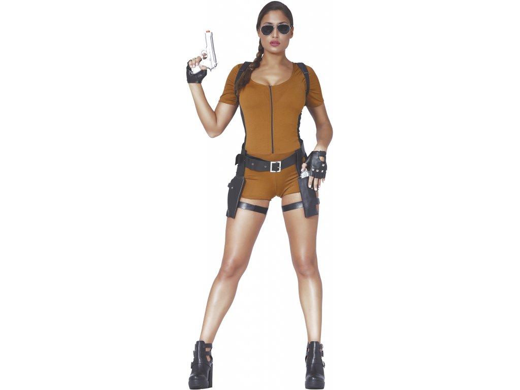 Kostym Lara Croft