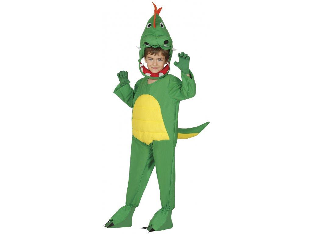 Kostým dinosaura - detský (Veľkosti 10-12 rokov (výška 142-148cm))