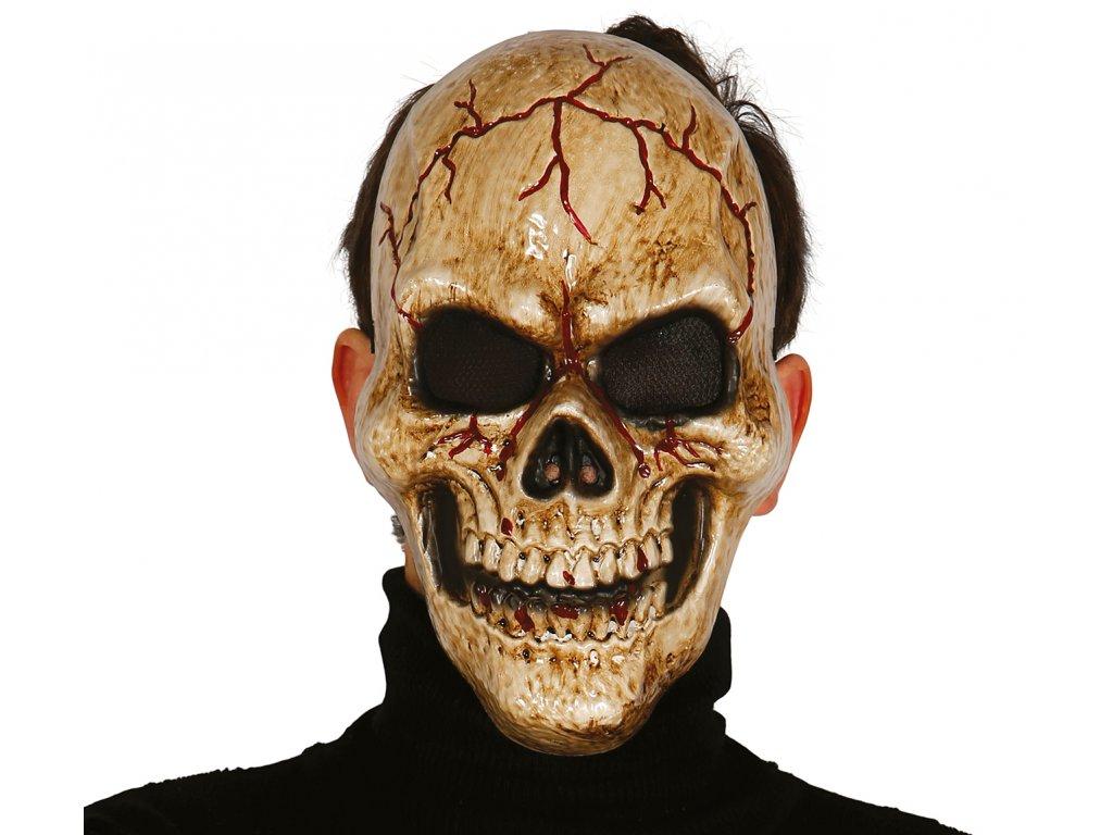 Maska lebka tmy