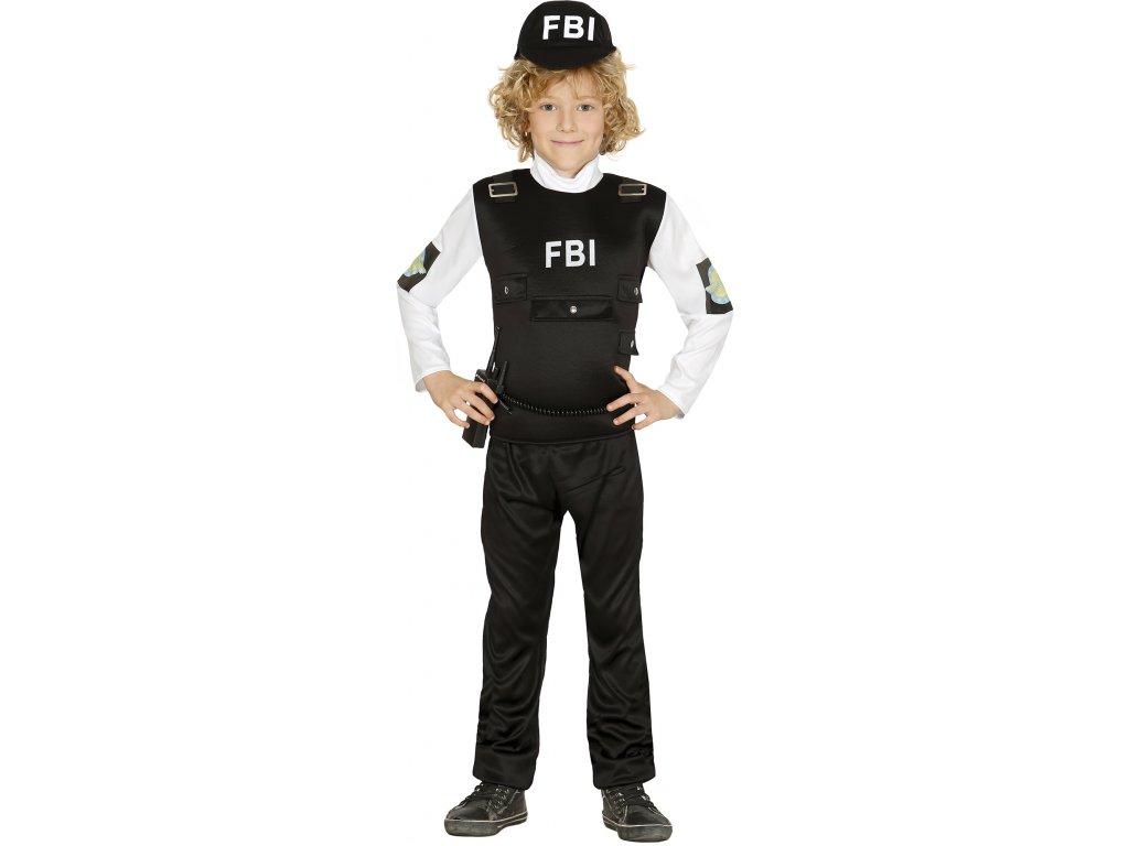 Kostým FBI dětský