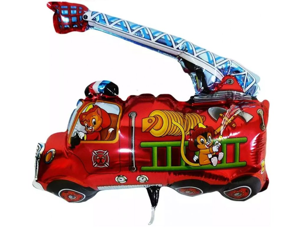 Fóliový balónek Hasičské auto