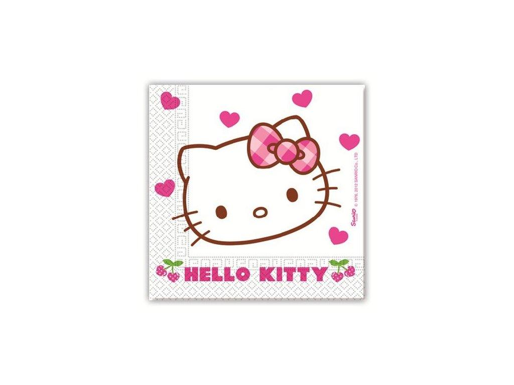 868 servitky hello kitty 33 x 33 20 ks