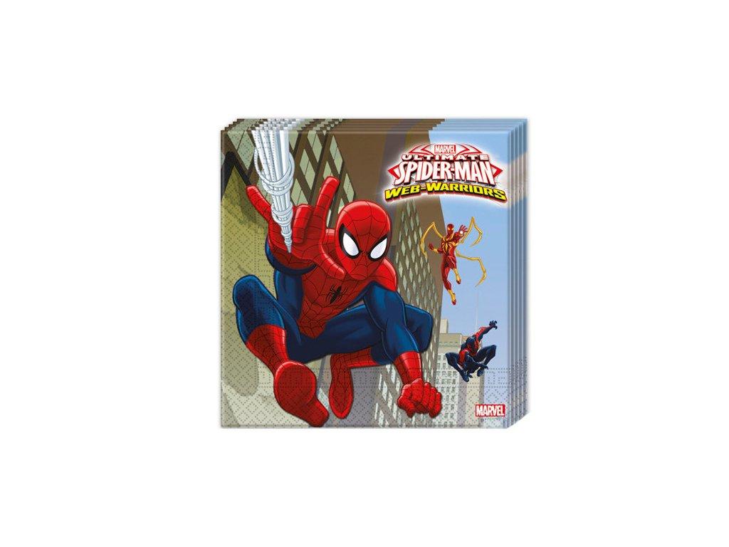 946 servitky ultimate spiderman 33 x 33 20 ks