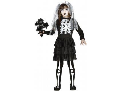 Dětský kostým Nevěsta Kostra
