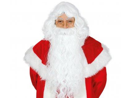 Dlouhá paruka a brada - Santa Claus