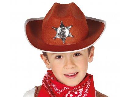Klobouk šerifa - dětský