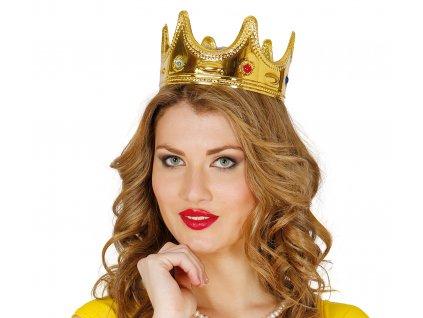 Koruna pro královnu - zlatá