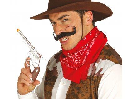 Revolver - hnědý 25 cm