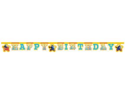 Banner Happy Birthday - Hledá se Dory