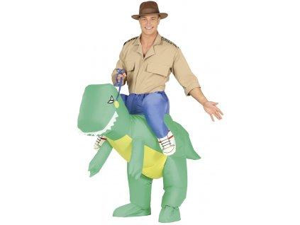 Kostým Nafukovací Dinosaurus