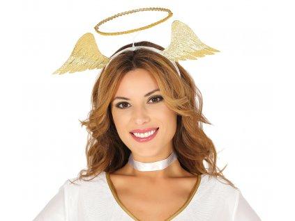 Andělská svatozář - zlatá