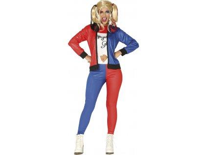 Dámsky kostým - Harley Quinn (Velikost - dospělý M)