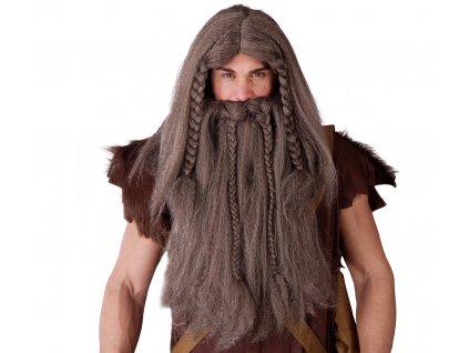 Paruka a vousy Vikinga