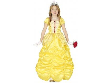 Dětský kostým - Princezná žlutý