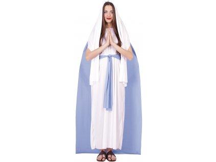 Dámsky kostým - Svätá Mária (Velikost - dospělý L)